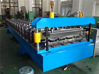 Hot Sale YTSING- YD-7172 Automatic Aluminium Color Steel Metal Roof Tile Roll Forming Machine