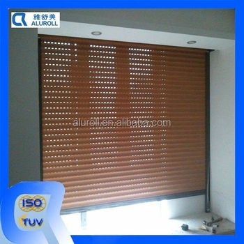 Heat Insulation Aluminum Roller Shutters For Windows