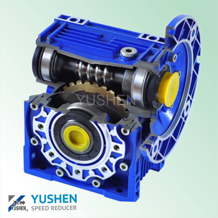 Italy designed NRV 090 speed reducer worm gear speed reducer gearbox variable speed gearbox
