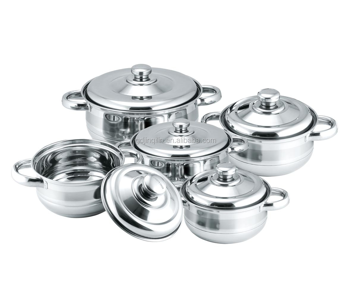 new design high quality sales cooking pot stainless steel with eco friendly material