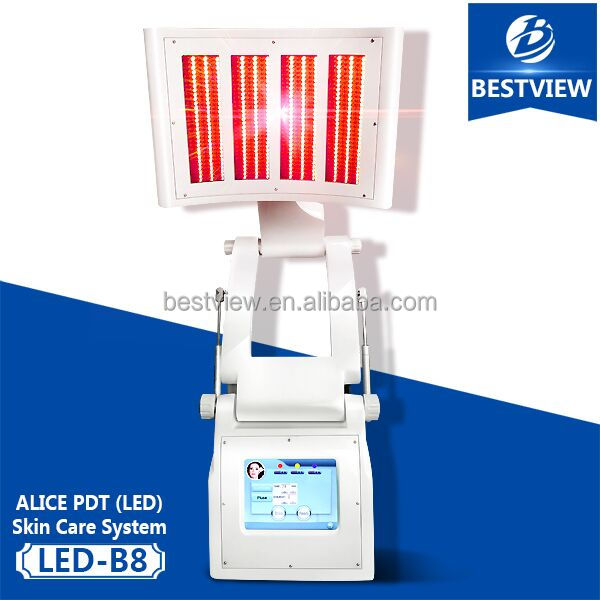 led light therapy skin tightening machine 7 Color PDT led light photodynamic therapy machine
