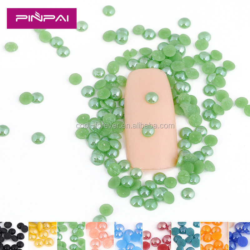 2016 Popular 3D acrylic diamond nail decoration for toe nails