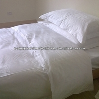 factory Price Hotel Used Plain weave 100 Cotton india duvet covers