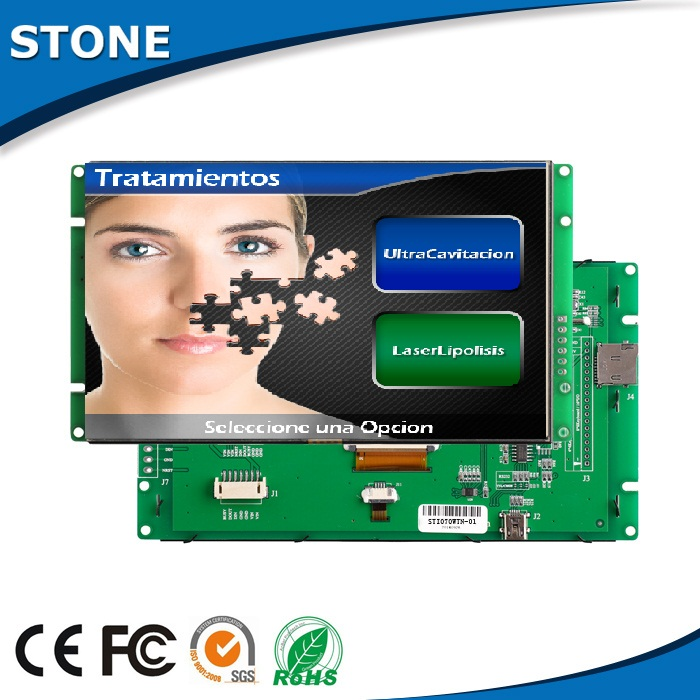 switch smart tft lcd monitor 5 inch for CNC machine