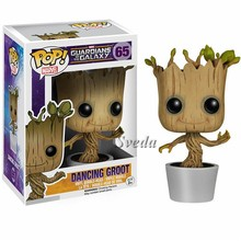 Funko POP action figure Dancing Groot#65 high quality Guardians of the Galaxy 2 Dancing Groot POP figure