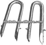 steel u staple pins
