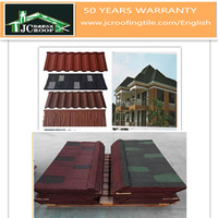 roofing material stone coated lightweight metal tile
