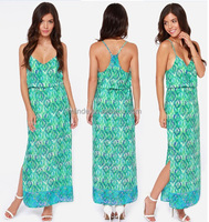 European Style Casual Summer Dresses Wholesale Women Dresses / Usine De Vetement Femme