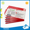 High Quality Custom PVC Scratch Card