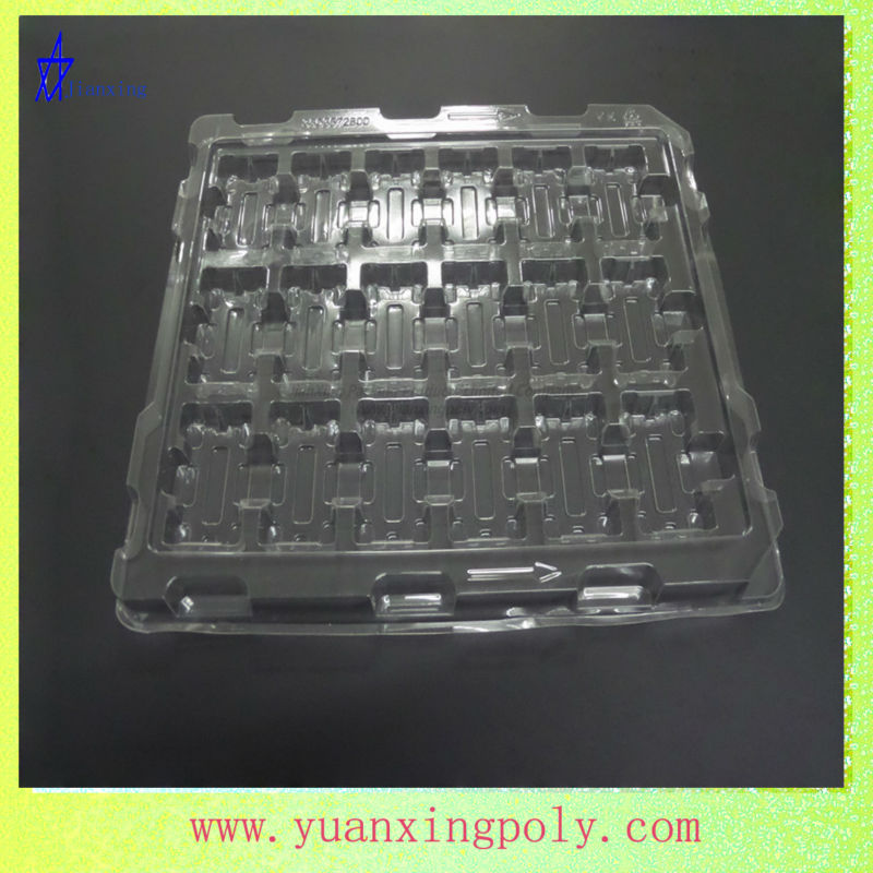 electronic tray blister