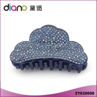 Top Quality Cellulose Acetate Rhinestone Hair Claw Clip for Women Large Size