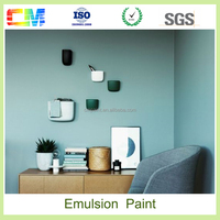 Hot sale chemical texture Low VOC envronmental friendly tractor emulsion paint price for interior wall coating
