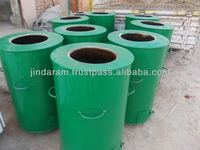 round Indian clay tandoor