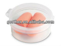 CE standard quality foam ear plug with round box