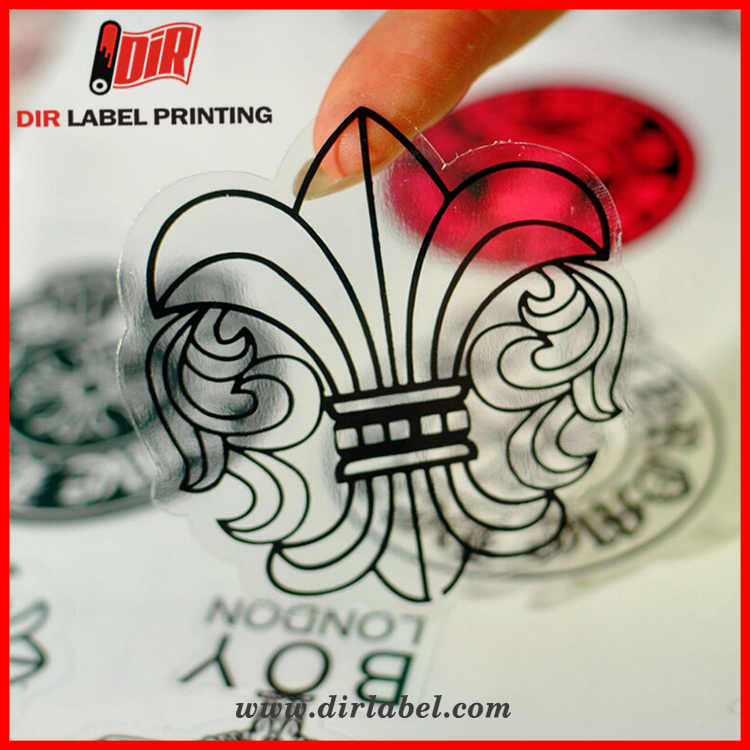 hot selling products waterproof custom adhesive printing brand logo stickers