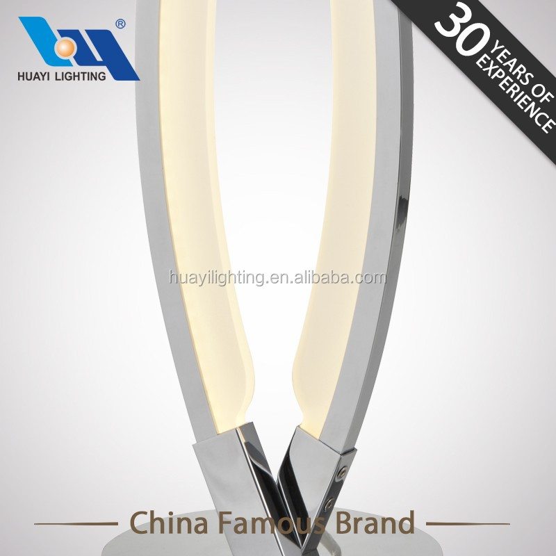 zhongshan factory producing high-quality glass table lamp design
