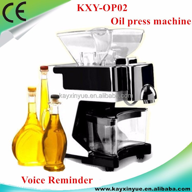 Free shipping Small commercial edible cold oil press machine/cooking oil making machine