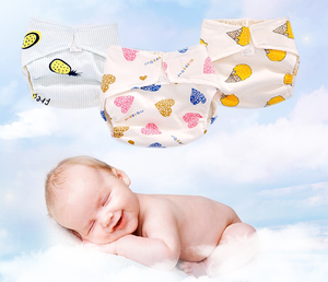 High Quality Pure Cotton Reusable Baby Diapers Sleepy Nappy Cloth Baby Diaper