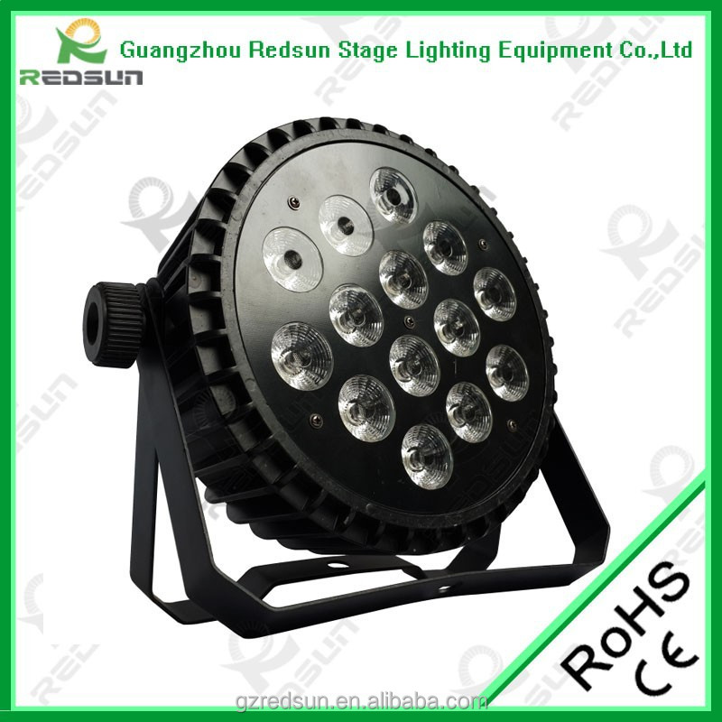 Stage par light led rotating lights for photoelectric controller show decoration light