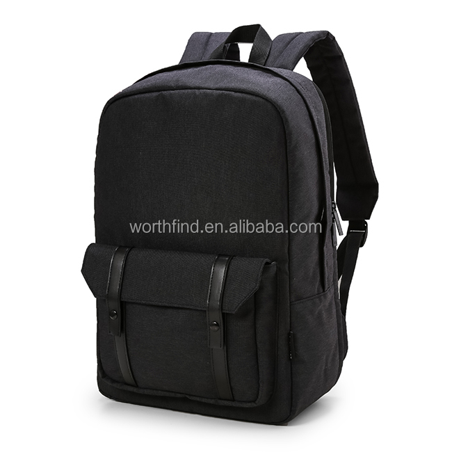 Fashion leisure polyester fabric business laptop travelling backpack