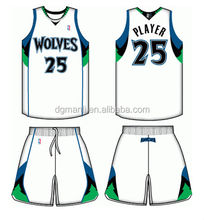 dye sublimation jersey basketball design