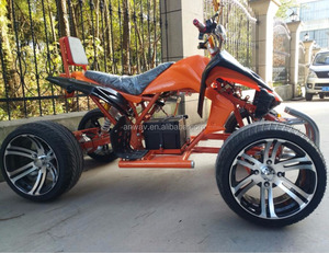 60v adult electric atv quad bike with differential mechanism