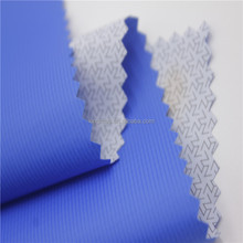 40D semi-dull nylon taffeta double-line ripstop PU coated dwnproof lining fabric for down jacket lining