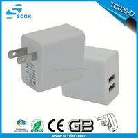 hot new products for 2015 4 USB Port AC Wall Travel Charger 5 V4 A output Power Adapter US plug