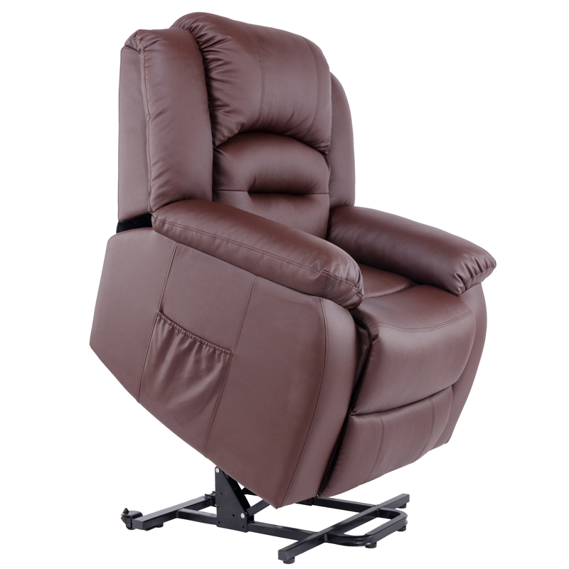 Top cow Leahter Electric Lift and recliner Chair