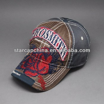 2015CHEAP CLASSICAL EMBROIDERY MESH BASEBALL CAP