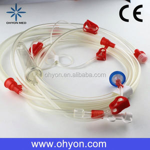 Disposable set for hemodialysis medical distributor dialysis blood lines CE ISO9001