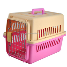 Plastic pet travel carrier Airline approved cat carrier