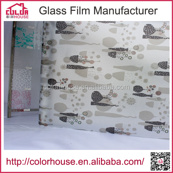 Door finish foil paper remove glue from glass adhesive