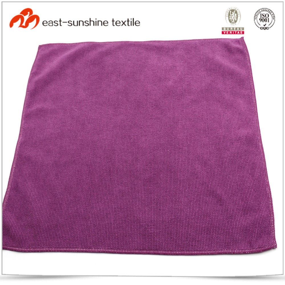 Hot sale household pure color seam edge towel cloth
