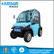 Newest style solar electric cars made in china
