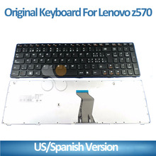 Brand NEW Original FOR Lenovo Z570 series laptop US Keyboard black