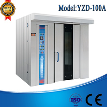 Electric power Rotary Rack Oven / Rotary Trollery Oven For Bread Bakery