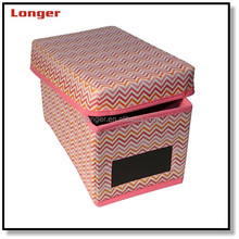 Household fabric storage box classic fabric home furnishing Organizer Boxes