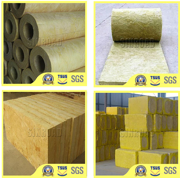 Mineral Wool for Pipe Duct Insulation Pipes