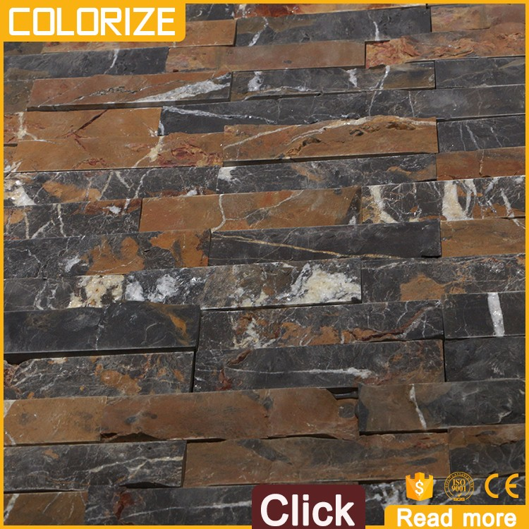Customized Popular Style Natural Marble Culture Stone/Slate Cultured Stone