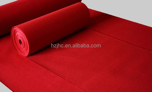 Nonwoven polyester carpet textile dyes backing cloth exhibition carpet