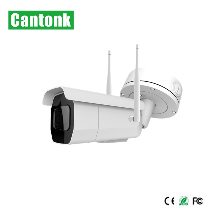 Cantonk 5MP Waterproof Outdoor  Dual Frequency Dual Antenna Wireless  IP Security  Cctv Camera