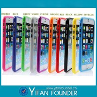cell phone case signal dual color tpu pc bumper for iphone5/6
