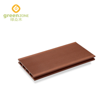 Outdoor patio decking flooring covering plastic wood WPC deck flooring