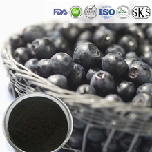 100% Natural Organic Blueberry extract powder 25% Blueberry anthocyanin