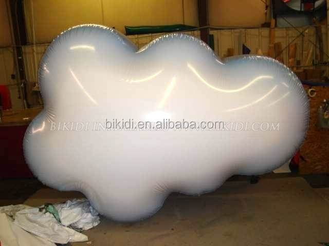 large inflatable cloud shaped balloon helium balloon