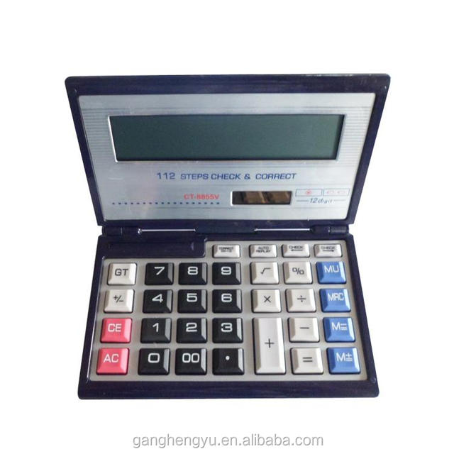 Big Size 14 digit Function Foldable Scientific Desktop Calculator