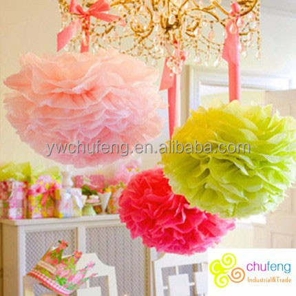 Colorful Paper lanterns used in wedding or meeting wedding <strong>decoration</strong>