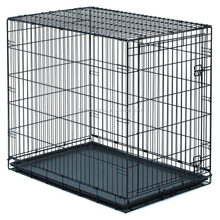 "Best quality pet 42"" large folding wire pet cages for large dog cat house metal dog crate"