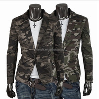 Fashion Cool Military Woodland Men Camouflage Suit